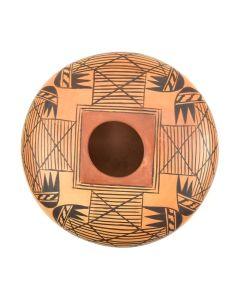 "Melva Nampeyo - Hopi Polychrome Jar c. 1970s, 3.25"" x 5.5"""