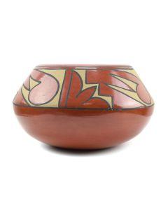 """Minnie Vigil - Santa Clara Jar c. 1970s, 4.75"""" x 8"""""""