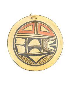 """Hopi Polychrome Bowl c. 1940s, 1.5"""" x 5.5"""""""