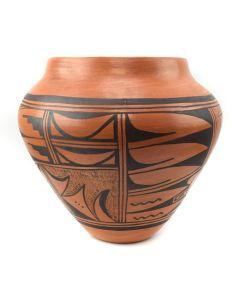 "Hopi Redware Olla c. 1950s, 9.5"" x 9"" (P3058-CO)"