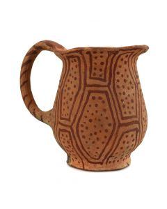 "Mohave Pitcher with Handle c. 1900s, 4.25"" x 3.75"" x 5"""