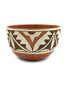 """Gladys Paquin - Laguna Bowl c. 1982, 2.75"""" x 4.5"""" (P3111)"""