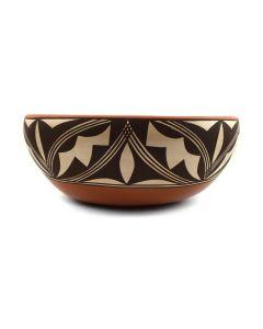 """Gladys Paquin - Laguna Bowl c. 1990s, 4.25"""" x 10.25"""" (P3113)"""