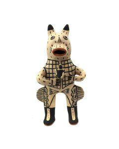 "Martha Arquero - Cochiti Storyteller Figurine c. 1970s, 10"" x 5"" x 3"""