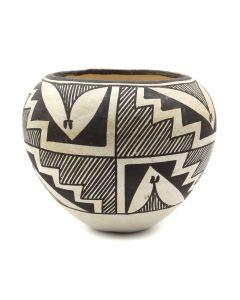 "Lucy Lewis (1898-1992) - Acoma Jar c. 1960-70s, 3.5"" x 3.5"" (P3144)"