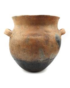 """Taos Vase with Handles c. 1940s, 8.5"""" x 8.5"""" (P3145)"""