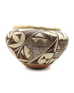 "Acoma Polychrome Jar c. 1930s, 6.5"" x 9.5"" (P3147)"