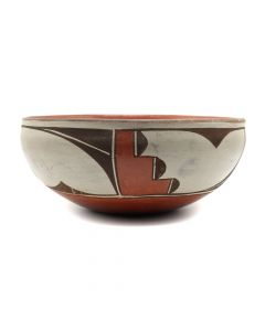 "Zia Polychrome Chili Bowl c. 1950s, 3"" x 6.5"" (P3149)"