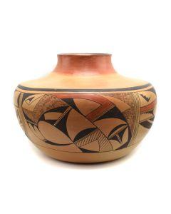 "Eunice ""Fawn"" Navasie (1920-1992) - Hopi Polychrome Vase c. 1960s, 10"" x 13.5"" (P3288)"