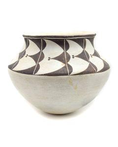 """Marie Z. Chino (1907-1982) - Acoma Jar c. 1960s, 9.5"""" x 12"""" (P3289)"""