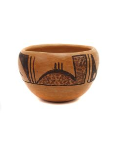 "Hopi Bowl c. 1970s, 2.75"" x 4.25"" (P3329)"