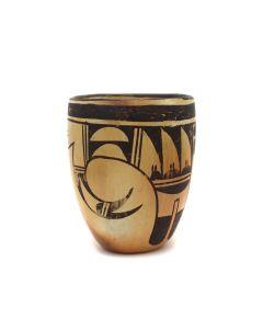 """Hopi Jar c. 1960s, 5"""" x 4"""" (P3337)"""