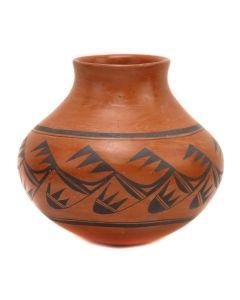 """Priscilla Namingha Nampeyo (1924-2008) - Hopi Redware Vase c. 1960s, 5.75"""" x 6.5"""" (P3350)"""