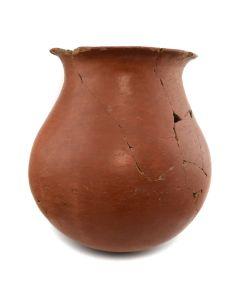 "Tohono O'odham Pot, c. 1900, 15"" x 13"""