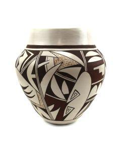 """Joy Navasie (1919-2012) - Hopi Vase c. 1970s, 6.25"""" x 5.25"""""""