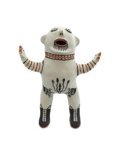 "Martha Arquero (b. 1944) - Cochiti Polychrome Pottery Figurine c. 1980s, 8.5"" x 6.5"" x 3"""
