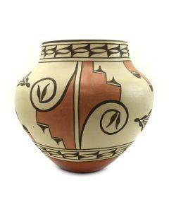 """Sofia Medina (1932-2010) - Zia Polychrome Jar c. 2000s, 8.75"""" x 9.5"""""""
