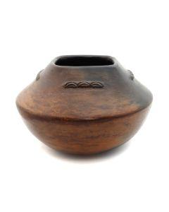 """Navajo Jar, c. 1990, 4.5"""" x 6.25"""""""