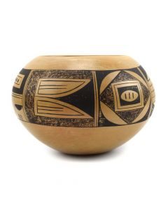 "Possibly Lillian Namingha - Hopi Polychrome Jar c. 1970s, 3.25"" x 4.5"""