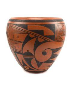 "Ethel Youvella (1919-2006) - Hopi Bowl c. 1970-80s, 6"" x 7"""