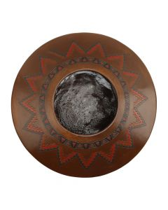 "Lorraine Williams - Navajo Polychrome Pitch Pot c. 1990-2000s, 6"" x 13"" (P90747A-0820-003)"