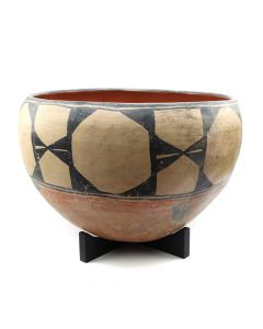 "Santo Domingo Dough Bowl c. 1890s, 13"" x 20"" (P91099-0220-001)"