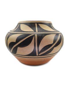 "Ambrose Atencio - Santo Domingo Polychrome Jar c. 2004, 5.75"" x 7.5"""
