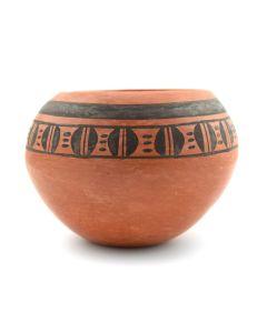 """Priscilla Namingha Nampeyo - Hopi Redware Bowl c. 1990-2000s, 3.5"""" x 4"""""""