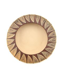 "Nona Naha - Hopi Jar with Geometric Designs c. 1990-2000s, 1"" x 5"""