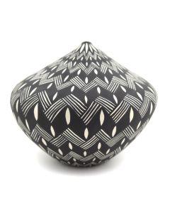"Sandra Victorino - Acoma Seed Jar c. 1990-2000s, 3.25"" x 3.5"""