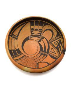 "Hopi Polychrome Bowl c. 1930s, 4"" x 10.5"" (P91932B-0512-001)"