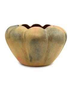 """Angie Yazzie - Taos Micaceous Melon Bowl c. 2009, 5.5"""" x 8"""""""