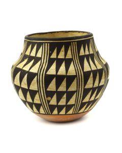 "Marie Z. Chino (1907-1982) - Acoma Polychrome Jar c. 1950s, 3.75"" x 4"" (P92336A-1219-002)"