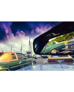 Nathan Benn - Parking Space, Kennedy Space Center, Florida, 1981