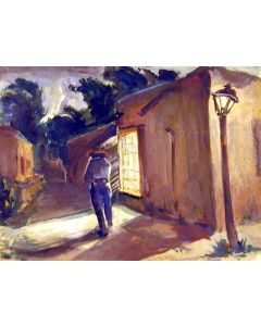 SOLD Robert Merrell Gage (1892-1981) - Taos, New Mexico