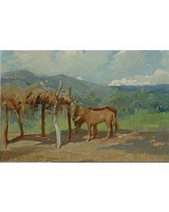 SOLD O.E. Berninghaus (1874-1952) - Around Taos