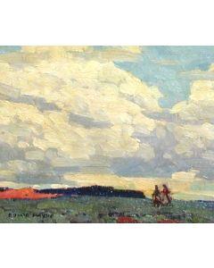 Edgar Payne (1883-1947) - Desert Sky #2