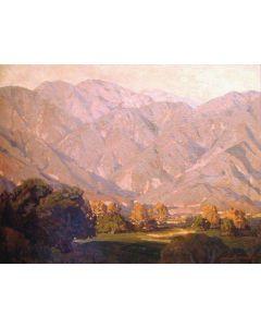 SOLD Edgar Payne (1883-1947) - Morning Light, San Gabriel Mountains