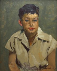 Odon Hullenkremer (1888-1978) - Young New Mexico Boy