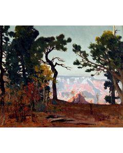 SOLD James Swinnerton (1875-1974) - Grand Canyon