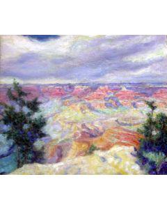SOLD Cornelius Botke (1887-1954) - Grand Canyon