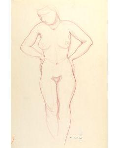 Doel Reed (1895-1985) - Standing Nude