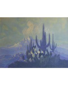 SOLD Jack Van Ryder (1899-1968) - Untitled