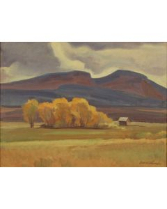 SOLD Edith Hamlin (1902-1992) - Lonesome Valley, Utah