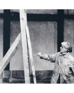 Dan Budnik - Black and White Photo of Willem de Kooning