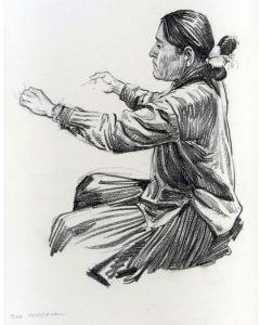 SOLD Don Perceval (1908-1979) - Navajo Weaver