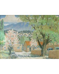 SOLD Carl von Hassler (1887-1969) - Springtime in Cundiyo