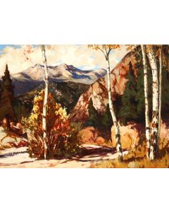 SOLD Fremont Ellis (1897-1985) - Red River Canyon