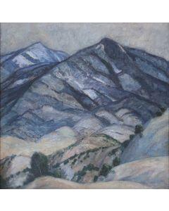 SOLD Sheldon Parsons (1866-1943) - Somber Mountains