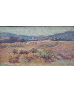 x SOLD Warren E. Rollins (1861-1962) - Santa Fe